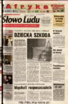 Słowo Ludu 2003 R.LIV, nr 243 (Ostrowiec, Starachowice, Skarżysko, Końskie, Ponidzie, Jędrzejów, Włoszczowa, Sandomierz, Staszów, Opatów)