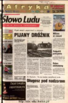 Słowo Ludu 2003 R.LIV, nr 249 (Ostrowiec, Starachowice, Skarżysko, Końskie, Ponidzie, Jędrzejów, Włoszczowa, Sandomierz, Staszów, Opatów)
