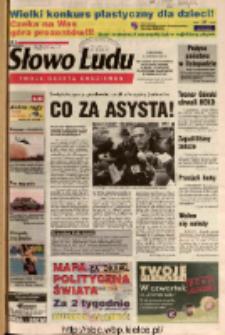 Słowo Ludu 2003 R.LIV, nr 255 (Ostrowiec, Starachowice, Skarżysko, Końskie, Ponidzie, Jędrzejów, Włoszczowa, Sandomierz, Staszów, Opatów)