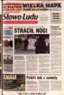 Słowo Ludu 2003 R.LIV, nr 262 (Ostrowiec, Starachowice, Skarżysko, Końskie, Ponidzie, Jędrzejów, Włoszczowa, Sandomierz, Staszów, Opatów)