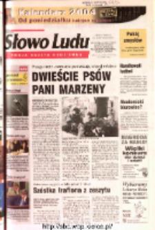 Słowo Ludu 2003 R.LIV, nr 277 (Ostrowiec, Starachowice, Skarżysko, Końskie, Ponidzie, Jędrzejów, Włoszczowa, Sandomierz, Staszów, Opatów)