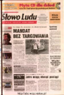 Słowo Ludu 2003 R.LIV, nr 290 (Ostrowiec, Starachowice, Skarżysko, Końskie, Ponidzie, Jędrzejów, Włoszczowa, Sandomierz, Staszów, Opatów)