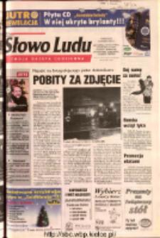 Słowo Ludu 2003 R.LIV, nr 296 (Ostrowiec, Starachowice, Skarżysko, Końskie, Ponidzie, Jędrzejów, Włoszczowa, Sandomierz, Staszów, Opatów)