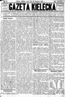 Gazeta Kielecka, 1903, R.34, nr 34