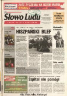 Słowo Ludu 2004 R.LV, nr 107 (Ostrowiec, Starachowice, Skarżysko, Końskie, Ponidzie, Jędrzejów, Włoszczowa, Sandomierz, Staszów, Opatów)