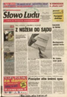 Słowo Ludu 2004 R.LV, nr 130 (Ostrowiec, Starachowice, Skarżysko, Końskie, Ponidzie, Jędrzejów, Włoszczowa, Sandomierz, Staszów, Opatów)