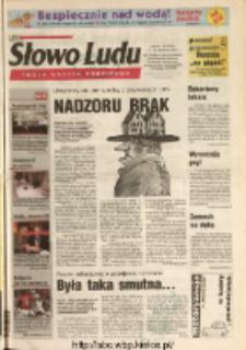 Słowo Ludu 2004 R.LV, nr 141 (Ostrowiec, Starachowice, Skarżysko, Końskie, Ponidzie, Jędrzejów, Włoszczowa, Sandomierz, Staszów, Opatów)