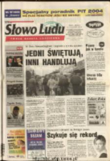 Słowo Ludu 2004 R.LV, nr 265 (Ostrowiec, Starachowice, Skarżysko, Końskie, Ponidzie, Jędrzejów, Włoszczowa, Sandomierz, Staszów, Opatów)