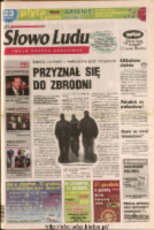 Słowo Ludu 2004 R.LV, nr 295 (Ostrowiec, Starachowice, Skarżysko, Końskie, Ponidzie, Jędrzejów, Włoszczowa, Sandomierz, Staszów, Opatów)