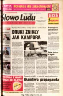 Słowo Ludu 2003 R.LIV, nr 35 (Ostrowiec, Starachowice, Skarżysko, Końskie)