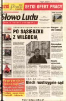 Słowo Ludu 2003 R.LIV, nr 72 (Ostrowiec, Starachowice, Skarżysko, Końskie)