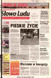 Słowo Ludu 2003 R.LIV, nr 73 (Ostrowiec, Starachowice, Skarżysko, Końskie)