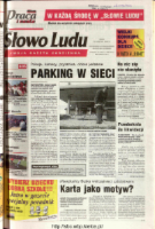 Słowo Ludu 2003 R.LIV, nr 94 (Ostrowiec, Starachowice, Skarżysko, Końskie)