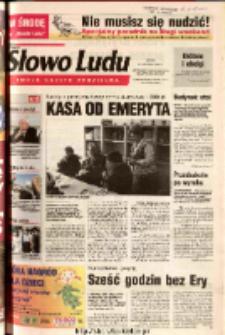 Słowo Ludu 2003 R.LIV, nr 99 (Ostrowiec, Starachowice, Skarżysko, Końskie)