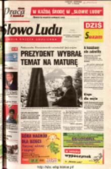 Słowo Ludu 2003 R.LIV, nr 103 (Ostrowiec, Starachowice, Skarżysko, Końskie)