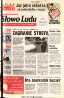 Słowo Ludu 2003 R.LIV, nr 117 (Ostrowiec, Starachowice, Skarżysko, Końskie)
