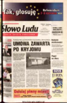 Słowo Ludu 2003 R.LIV, nr 129 (Ostrowiec, Starachowice, Skarżysko, Końskie)