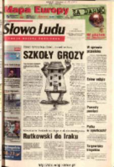 Słowo Ludu 2003 R.LIV, nr 215 (Ostrowiec, Starachowice, Skarżysko, Końskie)