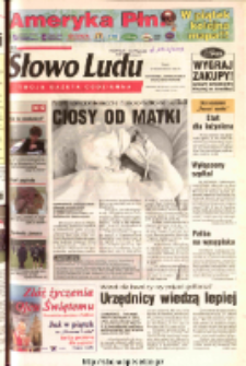 Słowo Ludu 2003 R.LIV, nr 234 (Ostrowiec, Starachowice, Skarżysko, Końskie)