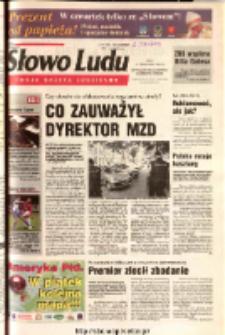 Słowo Ludu 2003 R.LIV, nr 240 (Ostrowiec, Starachowice, Skarżysko, Końskie)