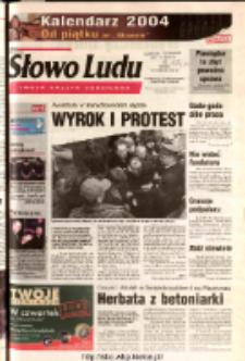 Słowo Ludu 2003 R.LIV, nr 267 (Ostrowiec, Starachowice, Skarżysko, Końskie)