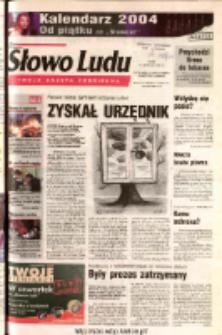Słowo Ludu 2003 R.LIV, nr 268 (Ostrowiec, Starachowice, Skarżysko, Końskie)