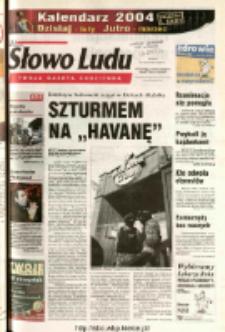 Słowo Ludu 2003 R.LIV, nr 273 (Ostrowiec, Starachowice, Skarżysko, Końskie)