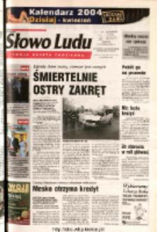 Słowo Ludu 2003 R.LIV, nr 275 (Ostrowiec, Starachowice, Skarżysko, Końskie)