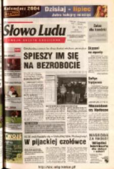Słowo Ludu 2003 R.LIV, nr 280 (Ostrowiec, Starachowice, Skarżysko, Końskie)