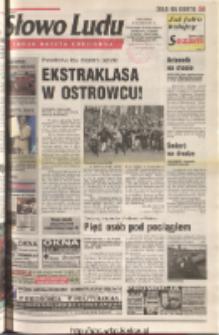 Słowo Ludu 2001 R.LII, nr 134 (Ostrowiec, Starachowice, Skarżysko, Końskie, Ponidzie, Jędrzejów, Włoszczowa, Sandomierz, Staszów, Opatów)