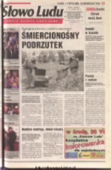Słowo Ludu 2001 R.LII, nr 138 (Ostrowiec, Starachowice, Skarżysko, Końskie, Ponidzie, Jędrzejów, Włoszczowa, Sandomierz, Staszów, Opatów)
