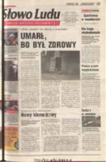 Słowo Ludu 2001 R.LII, nr 150 (Ostrowiec, Starachowice, Skarżysko, Końskie, Ponidzie, Jędrzejów, Włoszczowa, Sandomierz, Staszów, Opatów)