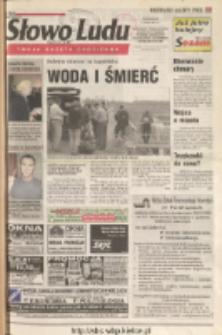 Słowo Ludu 2001 R.LII, nr 151 (Ostrowiec, Starachowice, Skarżysko, Końskie, Ponidzie, Jędrzejów, Włoszczowa, Sandomierz, Staszów, Opatów)
