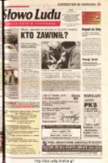 Słowo Ludu 2001 R.LII, nr 159 (Ostrowiec, Starachowice, Skarżysko, Końskie, Ponidzie, Jędrzejów, Włoszczowa, Sandomierz, Staszów, Opatów)