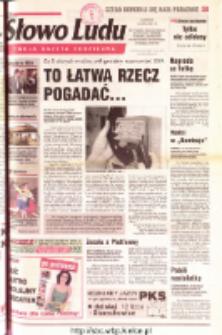 Słowo Ludu 2001 R.LII, nr 160 (Ostrowiec, Starachowice, Skarżysko, Końskie, Ponidzie, Jędrzejów, Włoszczowa, Sandomierz, Staszów, Opatów)