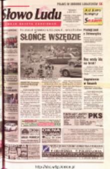 Słowo Ludu 2001 R.LII, nr 163 (Ostrowiec, Starachowice, Skarżysko, Końskie, Ponidzie, Jędrzejów, Włoszczowa, Sandomierz, Staszów, Opatów)