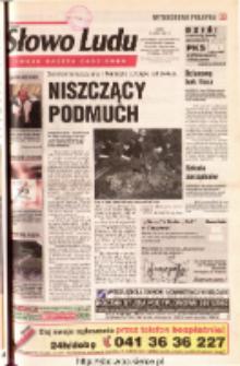 Słowo Ludu 2001 R.LII, nr 165 (Ostrowiec, Starachowice, Skarżysko, Końskie, Ponidzie, Jędrzejów, Włoszczowa, Sandomierz, Staszów, Opatów)