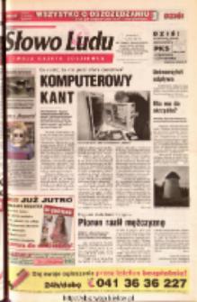 Słowo Ludu 2001 R.LII, nr 166 (Ostrowiec, Starachowice, Skarżysko, Końskie, Ponidzie, Jędrzejów, Włoszczowa, Sandomierz, Staszów, Opatów)