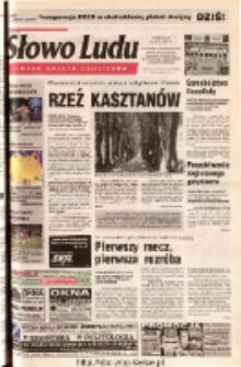 Słowo Ludu 2001 R.LII, nr 169 (Ostrowiec, Starachowice, Skarżysko, Końskie, Ponidzie, Jędrzejów, Włoszczowa, Sandomierz, Staszów, Opatów)