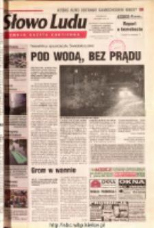 Słowo Ludu 2001 R.LII, nr 181 (Ostrowiec, Starachowice, Skarżysko, Końskie, Ponidzie, Jędrzejów, Włoszczowa, Sandomierz, Staszów, Opatów)