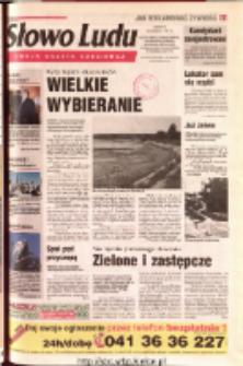 Słowo Ludu 2001 R.LII, nr 189 (Ostrowiec, Starachowice, Skarżysko, Końskie, Ponidzie, Jędrzejów, Włoszczowa, Sandomierz, Staszów, Opatów)