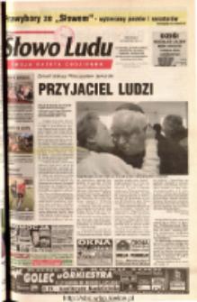 Słowo Ludu 2001 R.LII, nr 192 (Ostrowiec, Starachowice, Skarżysko, Końskie, Ponidzie, Jędrzejów, Włoszczowa, Sandomierz, Staszów, Opatów)