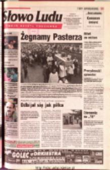 Słowo Ludu 2001 R.LII, nr 195 (Ostrowiec, Starachowice, Skarżysko, Końskie, Ponidzie, Jędrzejów, Włoszczowa, Sandomierz, Staszów, Opatów)
