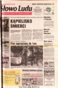 Słowo Ludu 2001 R.LII, nr 198 (Ostrowiec, Starachowice, Skarżysko, Końskie, Ponidzie, Jędrzejów, Włoszczowa, Sandomierz, Staszów, Opatów)
