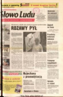 Słowo Ludu 2001 R.LII, nr 199 (Ostrowiec, Starachowice, Skarżysko, Końskie, Ponidzie, Jędrzejów, Włoszczowa, Sandomierz, Staszów, Opatów)