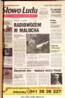 Słowo Ludu 2001 R.LII, nr 203 (Ostrowiec, Starachowice, Skarżysko, Końskie, Ponidzie, Jędrzejów, Włoszczowa, Sandomierz, Staszów, Opatów)