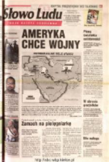 Słowo Ludu 2001 R.LII, nr 215 (Ostrowiec, Starachowice, Skarżysko, Końskie, Ponidzie, Jędrzejów, Włoszczowa, Sandomierz, Staszów, Opatów)