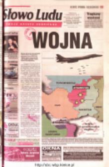 Słowo Ludu 2001 R.LII, nr 234 (Ostrowiec, Starachowice, Skarżysko, Końskie, Ponidzie, Jędrzejów, Włoszczowa, Sandomierz, Staszów, Opatów)
