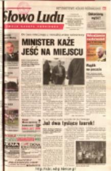 Słowo Ludu 2001 R.LII, nr 252 (Ostrowiec, Starachowice, Skarżysko, Końskie, Ponidzie, Jędrzejów, Włoszczowa, Sandomierz, Staszów, Opatów)