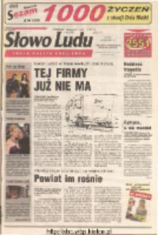 Słowo Ludu 2001 R.LII, nr 117 (Ostrowiec, Starachowice, Skarżysko, Końskie)